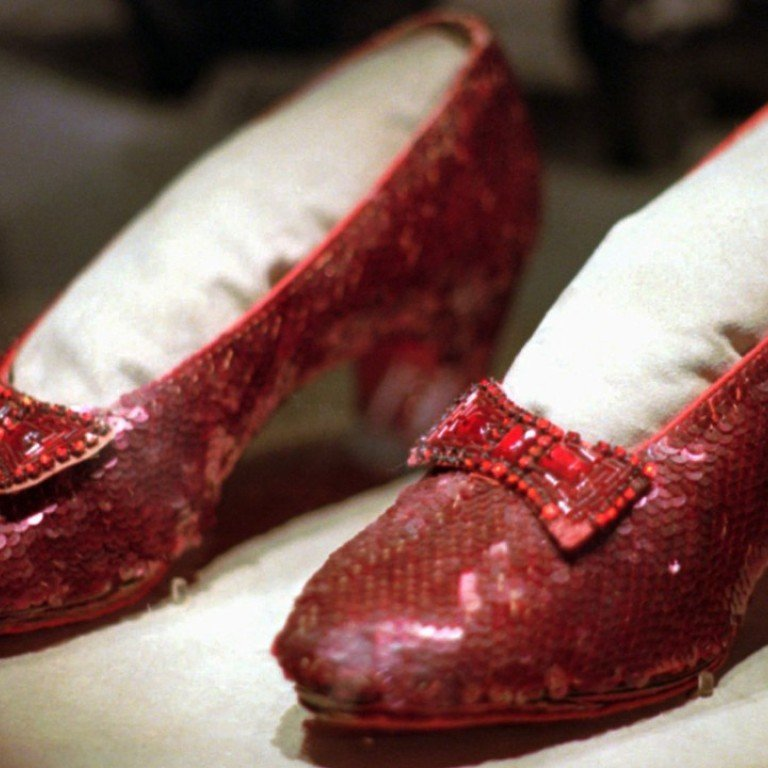 Stolen Wizard Of Oz Ruby Slippers Worth At Least Us 1 Million Recovered By Fbi South China Morning Post