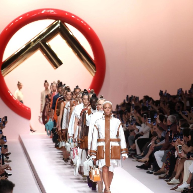 Karl Lagerfeld S Functional Fendi Creations Honour Stylish Metropolitan Jungle Women At Milan Fashion Week South China Morning Post