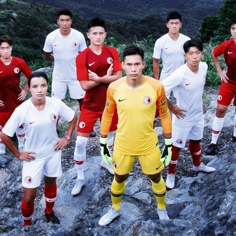 cheap for discount cdfa6 36748 New Nike kit for Hong Kong football team released for Gary ...