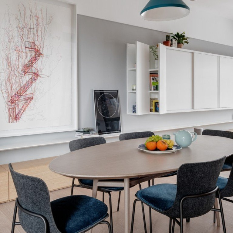 Inside a Hong Kong newlyweds' flat designed to grow with the ... on japan modern house design, mexico modern house design, kenya modern house design, pinoy modern house design, chinese modern house design, city modern house design,