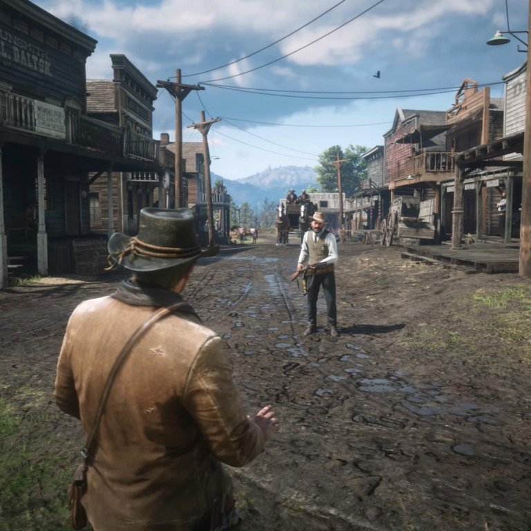 Red Dead Redemption 2: slower paced than GTA V, but immerses