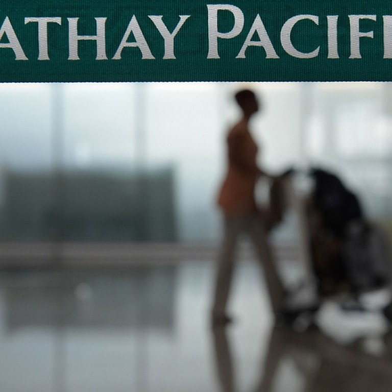 The fact Cathay Pacific does not have to notify anyone of a