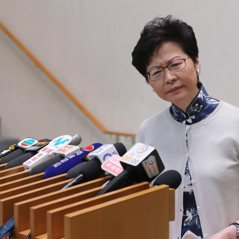 0df1e8f73c8c Five ways Carrie Lam and her team can prove to Hong Kong they are not out  of touch