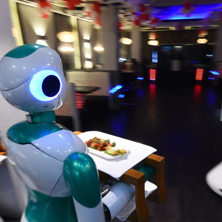Meet Ginger: Nepal's first robot waiter is ready to take