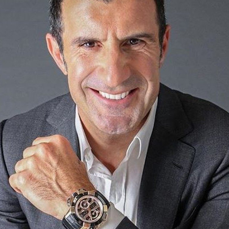 cheap for discount 49c4c bc9ac Former soccer star Luis Figo, who just turned 46, talks ...