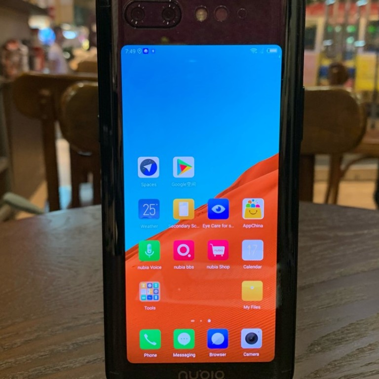 cbfb1948e8 Nubia X dual screen phone first impressions: notch-free handset well  designed, but cameras are a let-down