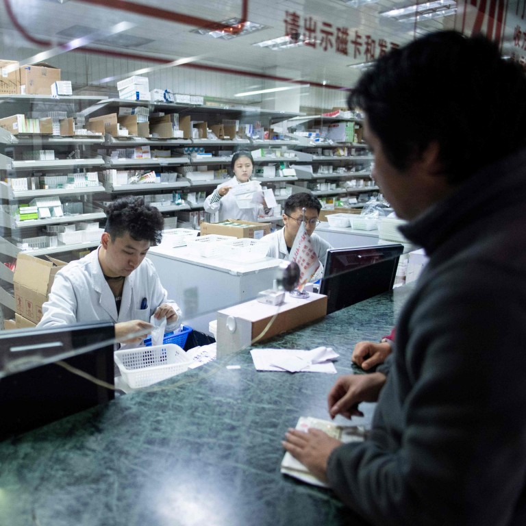 Chinese pharmaceutical stocks plunge on bigger than expected price