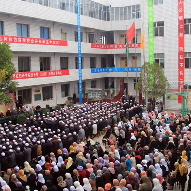 Chinese Arabic school to close as areas with Muslim