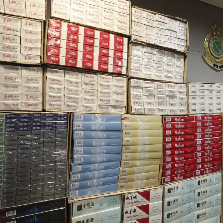 More than 20 million smuggled cigarettes seized in Hong Kong so far