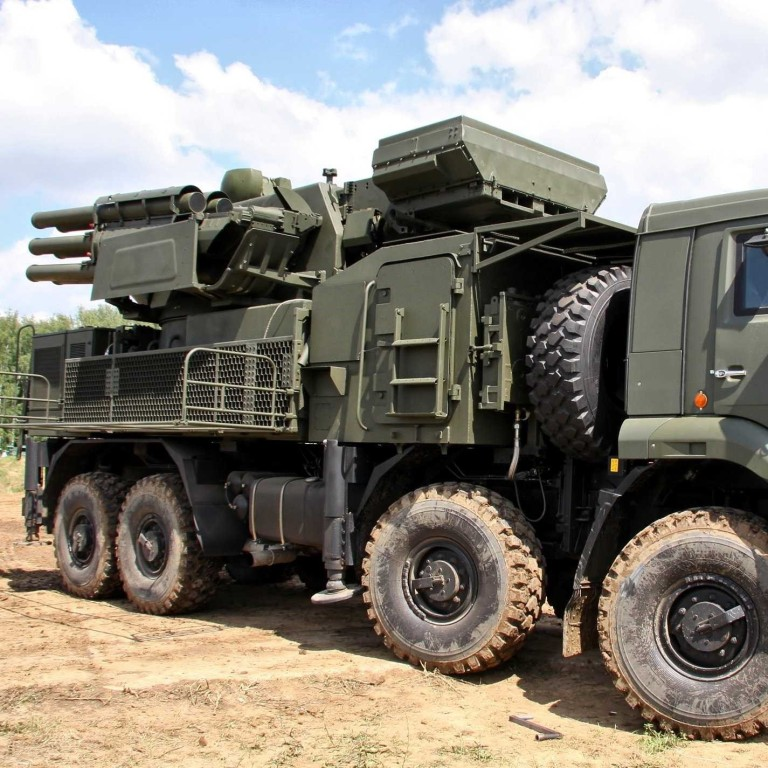 A Russian Pantsir S-1 surface-to-air missile system. Photo: Nato