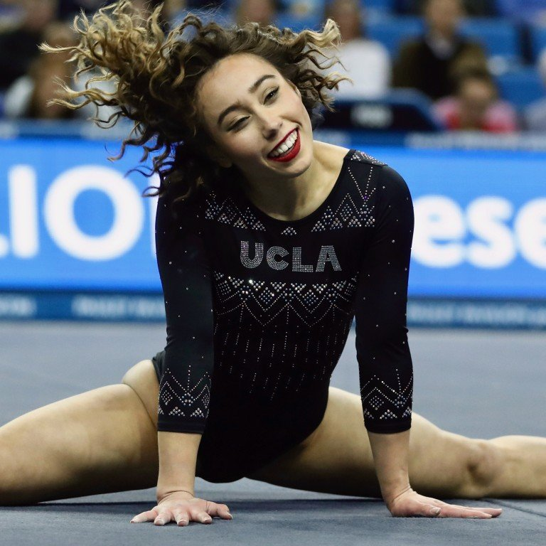 UCLA gymnast Katelyn Ohashi's flawless