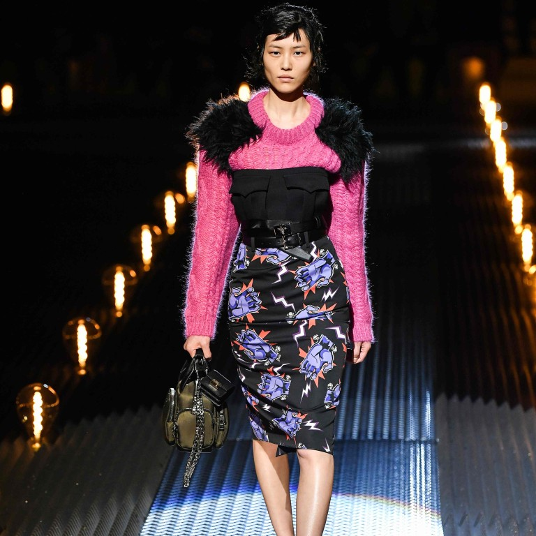 379ea61db56 Liu Wen was one of the models presenting creations for women during Prada s  men s fall