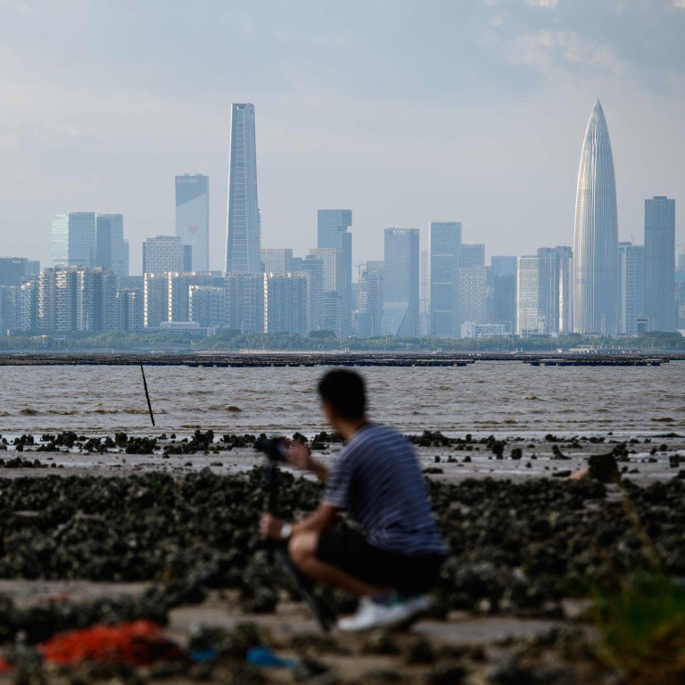 A business district in Hong Kong's rural north is the answer