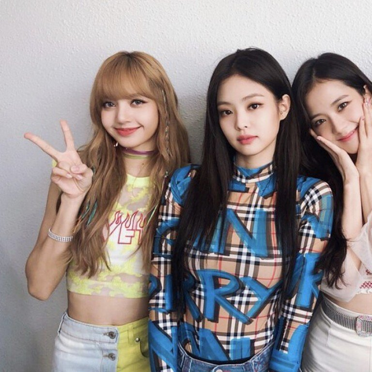 d12da54a South Korean girl group BLACKPINK perform at the Gaon Chart Music Awards in  Seoul on January