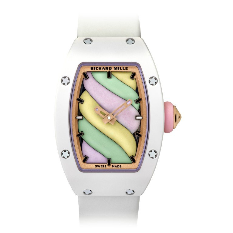 Richard Mille gets colourful with Bonbon wrist candy ...