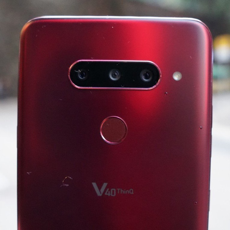 LG V40 ThinQ smartphone: best Android video phone, perfect for