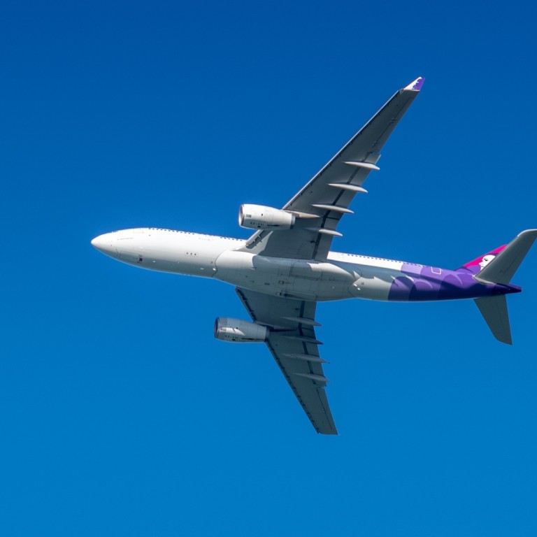 Hawaiian Airlines jet flies in circles for hours, returns to