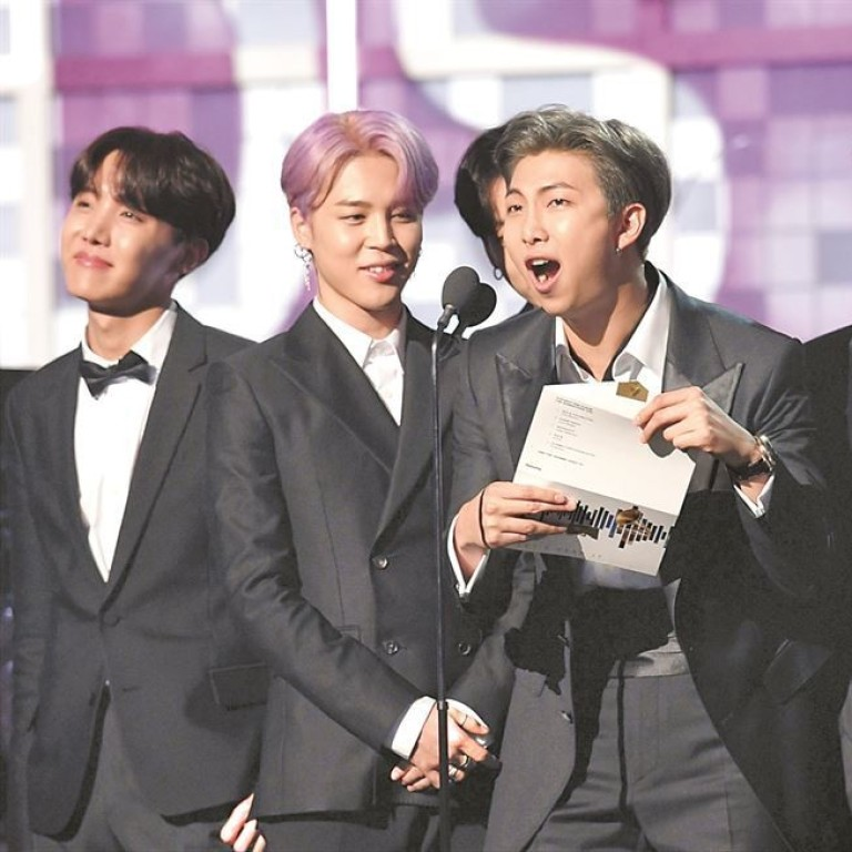 K Pop Band Bts Always Dreamed Of Being On The Grammys Stage