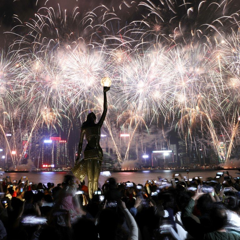 Fireworks banned in Hong Kong? The rules, apparently, don't
