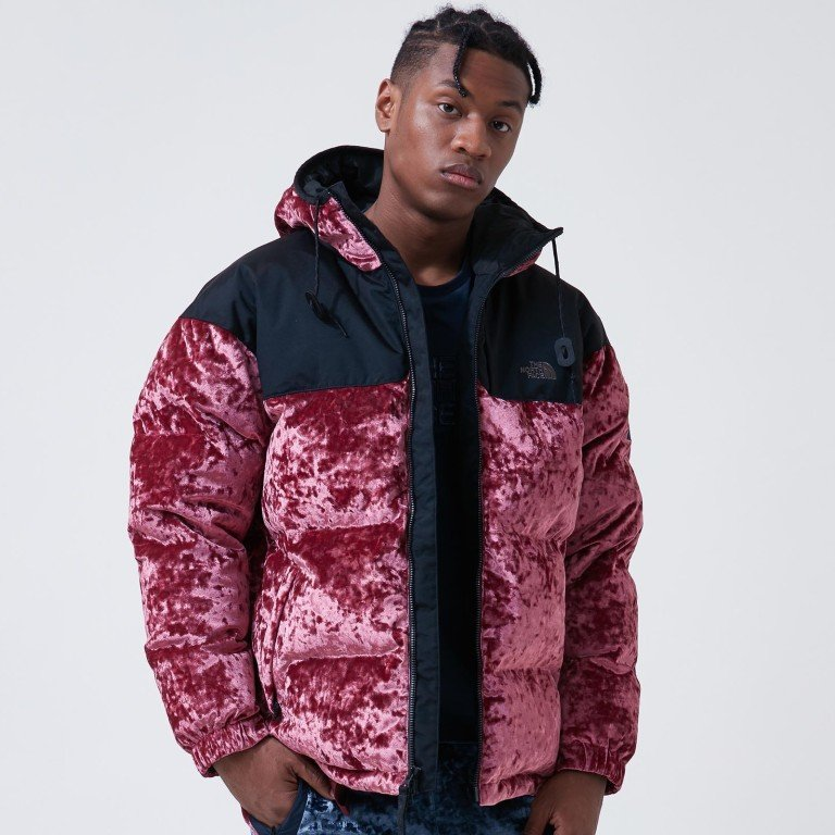 ec95a5dc4be30 Nuptse jacket from The North Face's autumn-winter 2018 velvet collection.