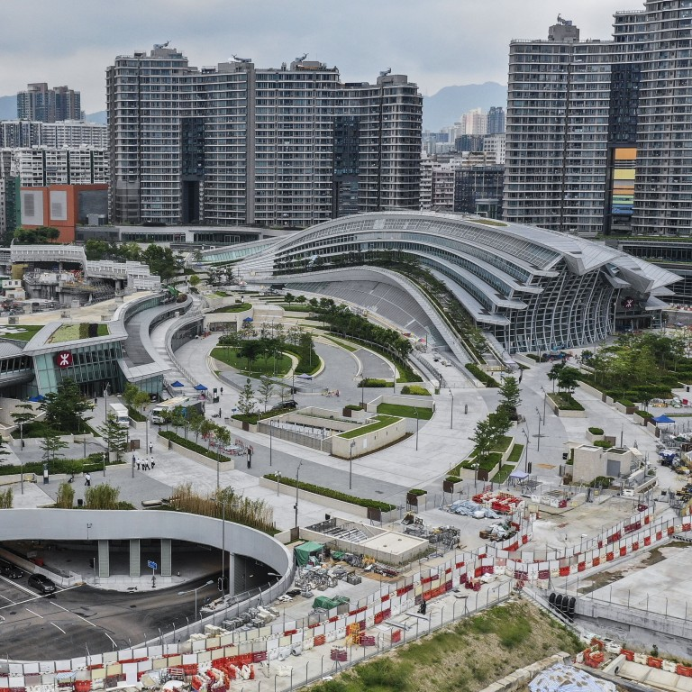 Prime land on top of hong kong s high speed rail station to