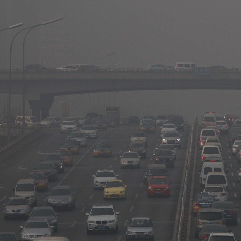 Reuters analysis suggests only six of 39 smog-prone northern Chinese cities cut PM2.5 concentrations in the latest winter anti-smog campaign. Photo: Simon Song