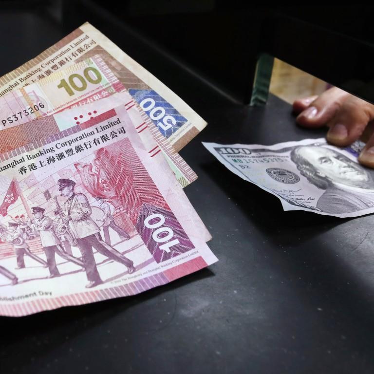 Hong Kong's Monetary Authority Sells US Dollars To Prop Up