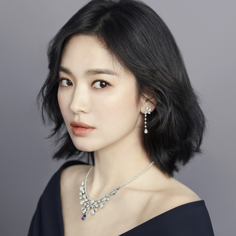 Song Hye-kyo wears Chaumet's Joséphine Aigrette Impériale high jewellery collection, including a necklace worth US$180,000.