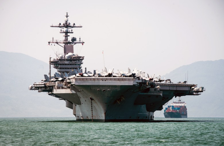 Why a US aircraft carrier is patrolling waters in Vietnam