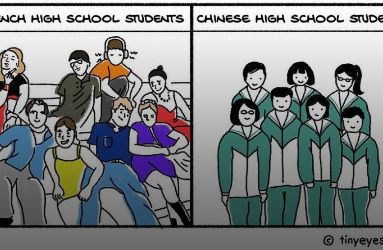 This Chinese artist's comics on living abroad are taking off