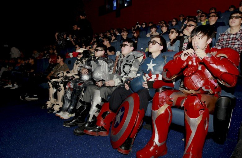 China is about to become the world's biggest film market
