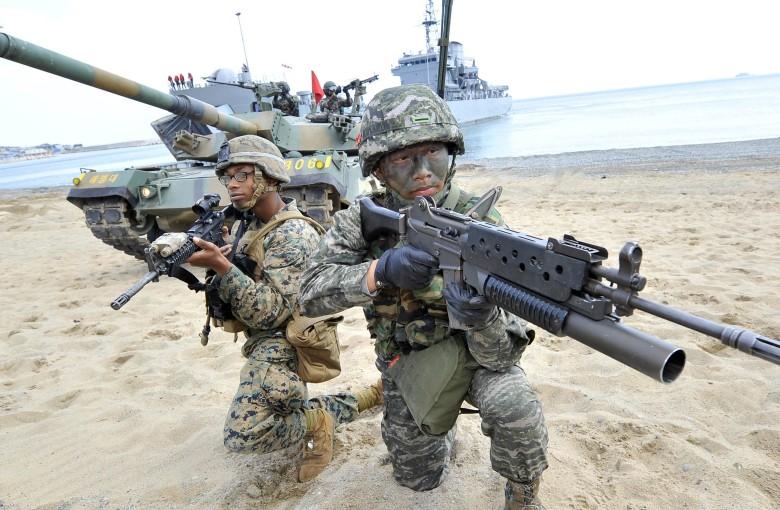 Trump is canceling war games in Korea. China cheers