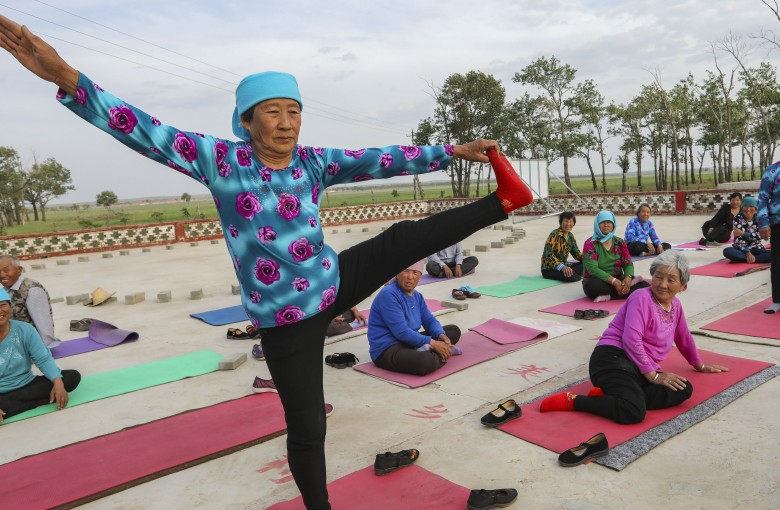 Yoga and quinoa: weapons in China's war on poverty
