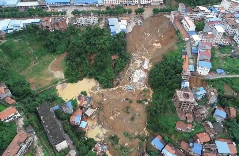Torrential rain devastates southern China