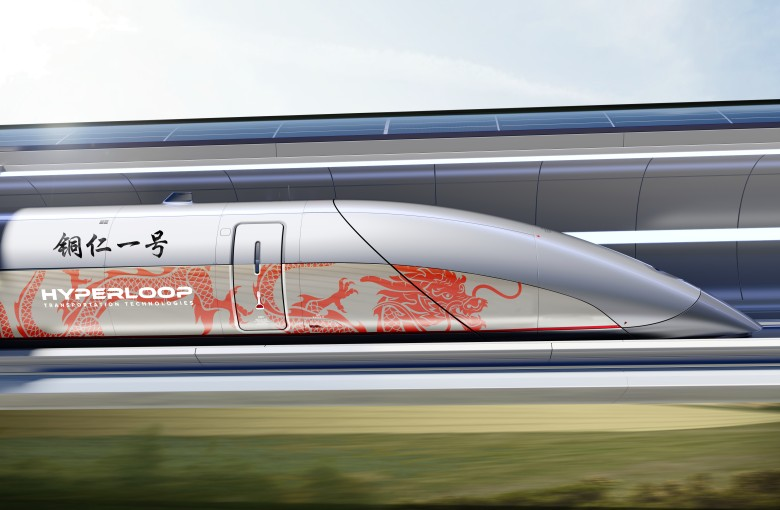 China teams up with an LA firm to build a Hyperloop