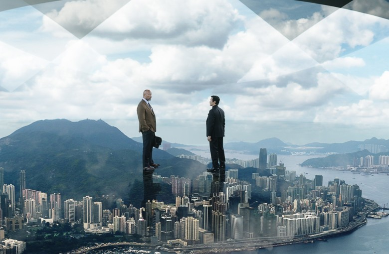The Rock's latest flick opens sky-high in China