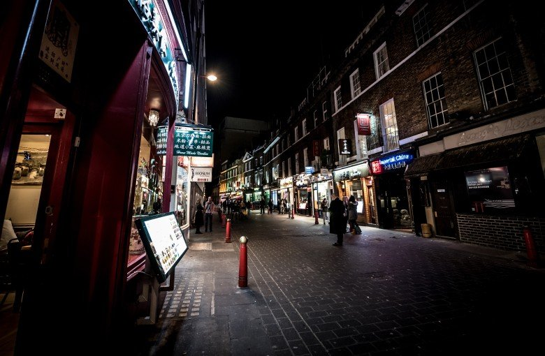 London's Chinatown falls silent to protest 'fishing raids'
