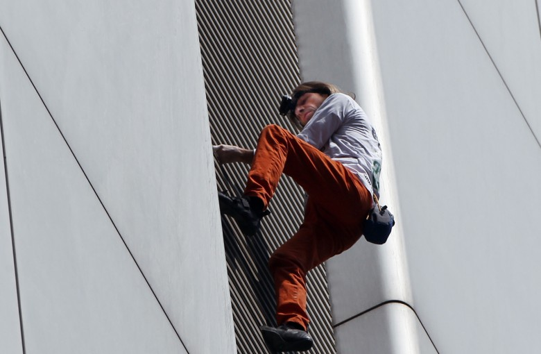 Banned from Hong Kong, 'French Spider-Man' will keep climbing