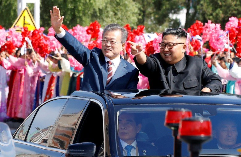 North and South Korean leaders meet in Pyongyang