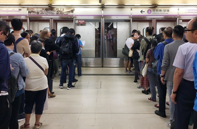 Morning chaos cripples 'the world's best' subway system