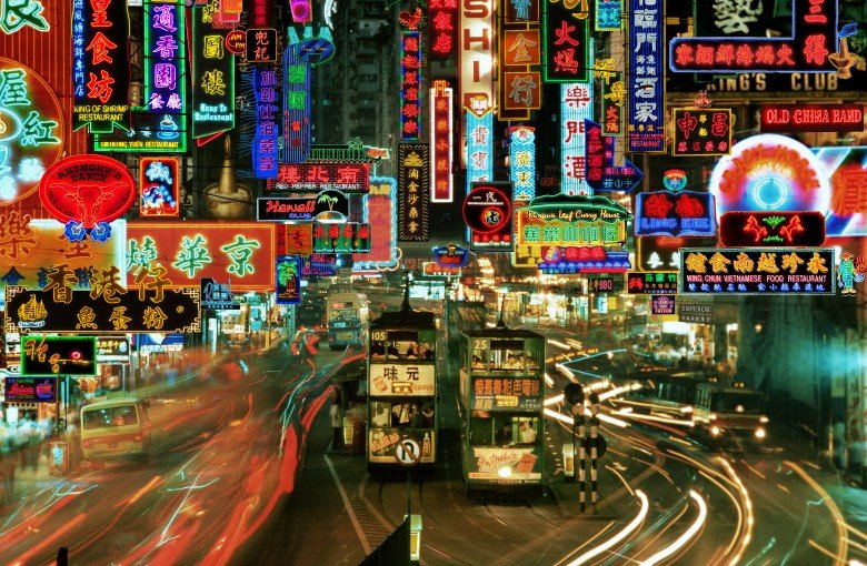 This photographer is obsessed with Hong Kong's neon signs