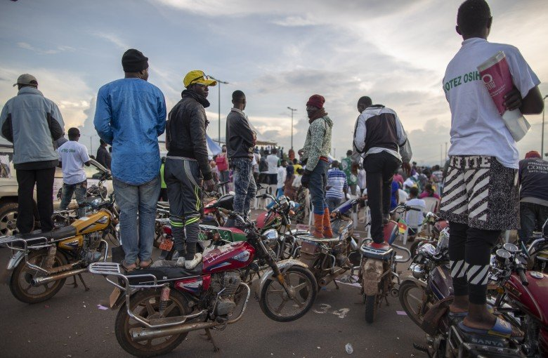 Chinese motorcycles are king of the road in Cameroon