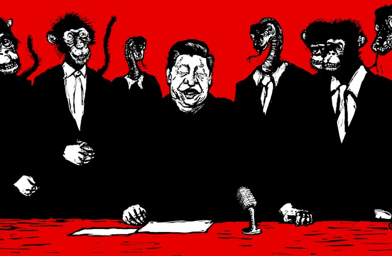 The satirical cartoons that won't be shown in Hong Kong