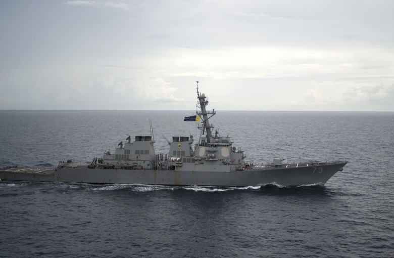 When a Chinese and a US warship almost collided