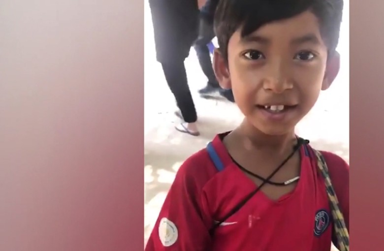 Free trip to China for polyglot Cambodian boy