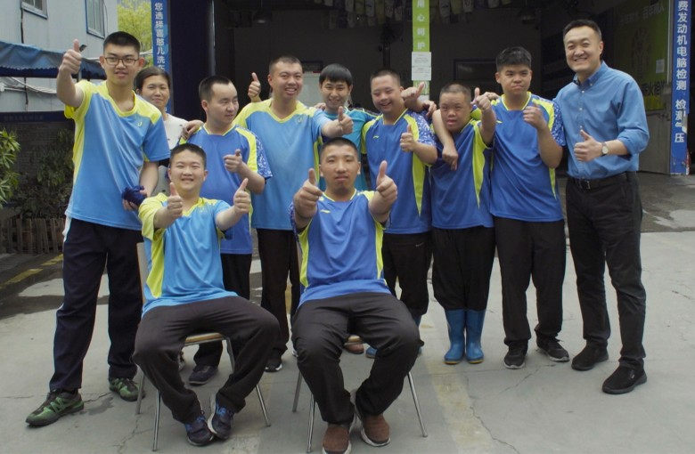 The car wash with a disabled workforce