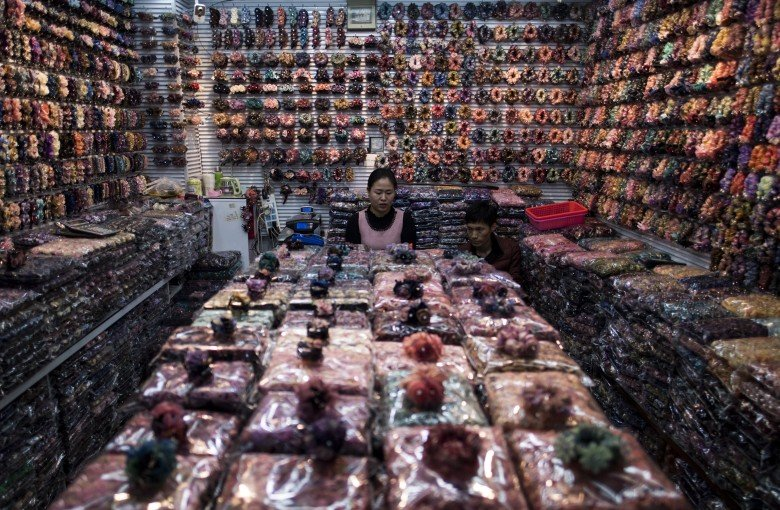 Inside the market that sells everything from knickknacks to knock-offs