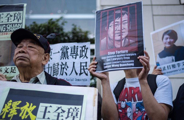 China puts human rights lawyer on trial over Christmas. Of course