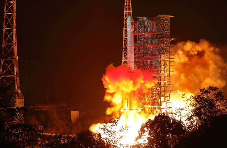 The launch center that got China to the moon