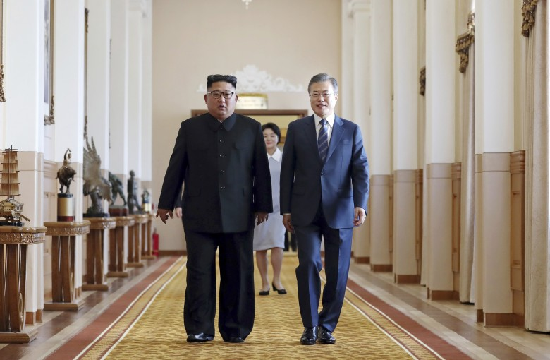 North and South Korea inch closer to peace